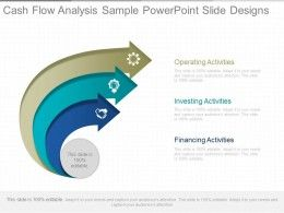 Cash Flow Analysis Sample Powerpoint Slide Designs