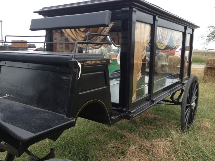 Buggy Hearse at Bee County Amish Auction