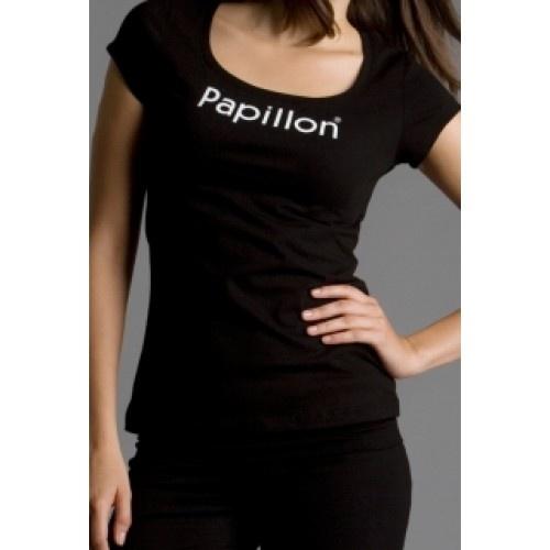 Le Papillon TSHIRT PA2031  Material : Cotton  Colour : Black  Price:14.00€
