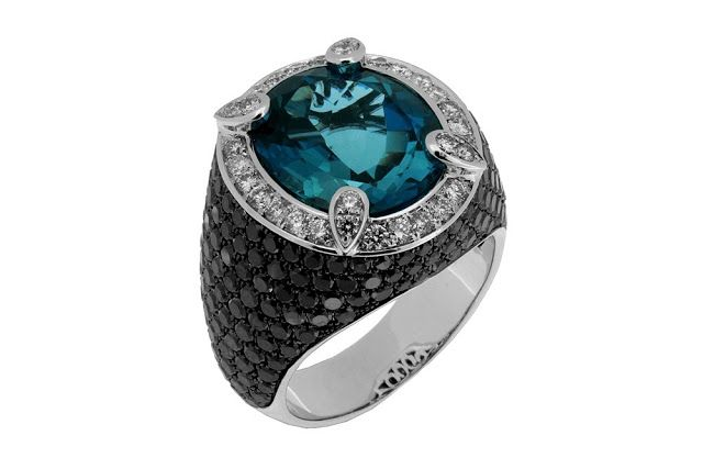 Fascination of Black Diamonds Jewelry