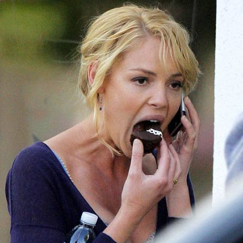 Awkward Pictures Of Celebrities Eating