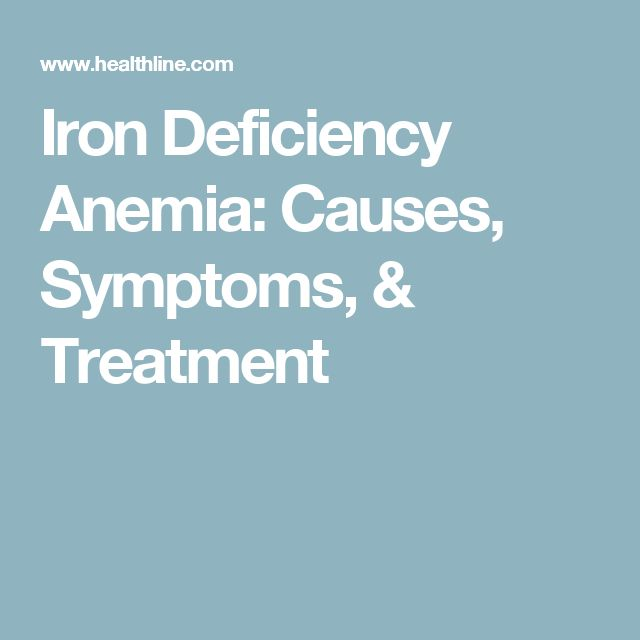 iron deficiency anemia articles