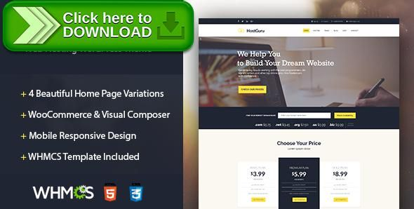[ThemeForest]Free nulled download HostGuru - Responsive Web Hosting WordPress Theme + WHMCS from http://zippyfile.download/f.php?id=15386 Tags: cloud hosting, flat, flat hosting theme, hosting theme, Hosting Wordpress Theme, modern hosting theme, responsive, shared hosting, vps hosting, web hosting, Web Hosting Theme, web hosting WordPress Theme, whmcs, whmcs wordpress theme, wordpress