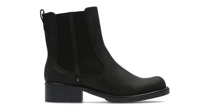 Orinoco Club Black Leather   Clarks