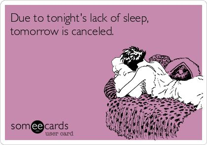 Tomorrow is cancelled!