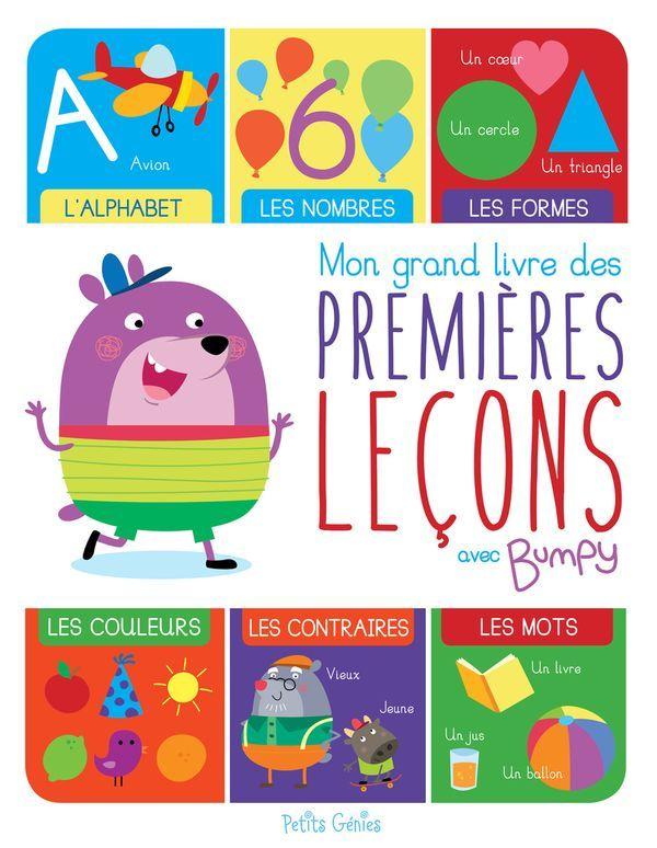 Mon Grand Livre Des Premieres Lecons Avec Bumpy Distribution Prologue Kids Rugs Kids Learning