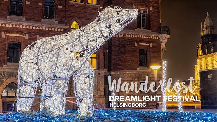 Dreamlight festival in Helsingborg, Sweden