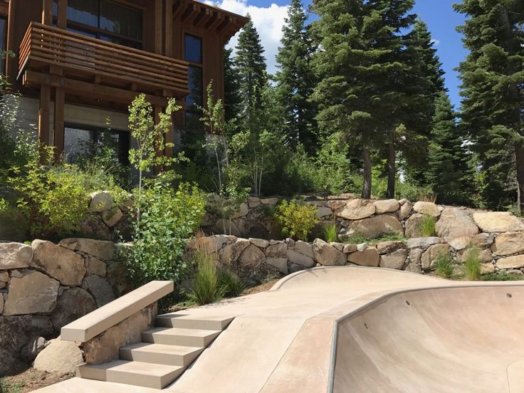 Marvelous Backyard Skatepark Truckee CA Truckee California