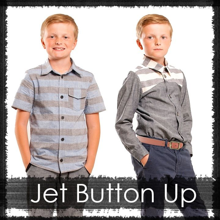 Image of Jet Button Up