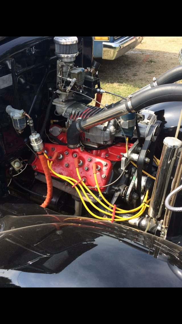 Supercharged Ford V8 60 In A Model A How Cool Is That