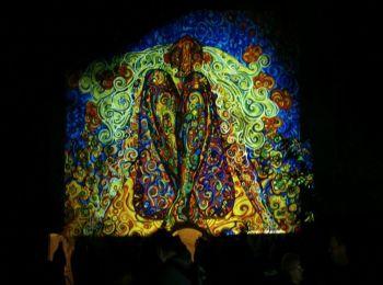 Night Projection fényfestés - Feszt!Eger 2014 - Madonna