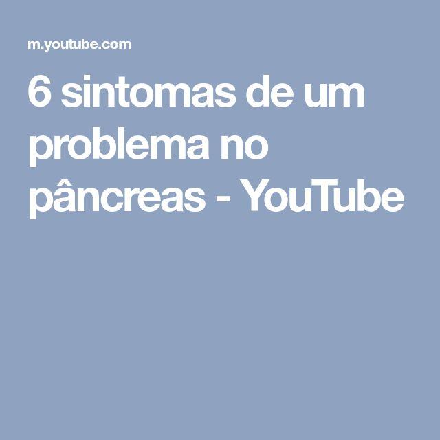 6 sintomas de um problema no pâncreas - YouTube