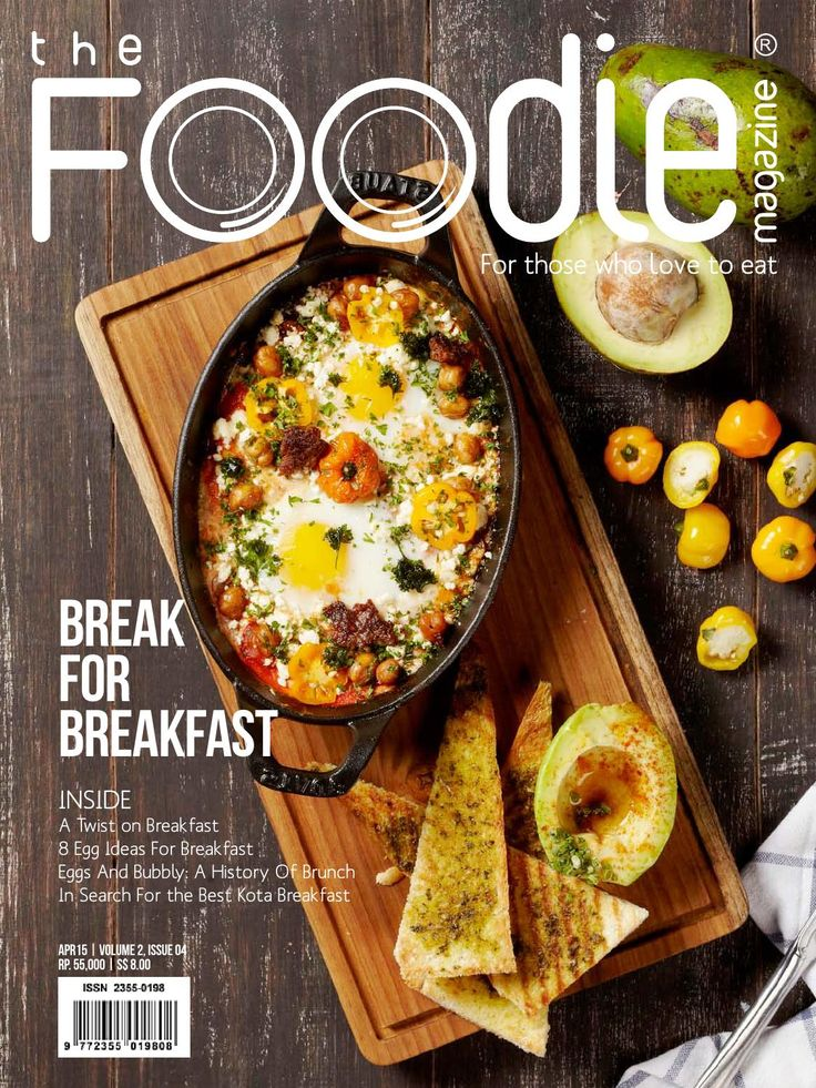 The Foodie Magazine April 2015