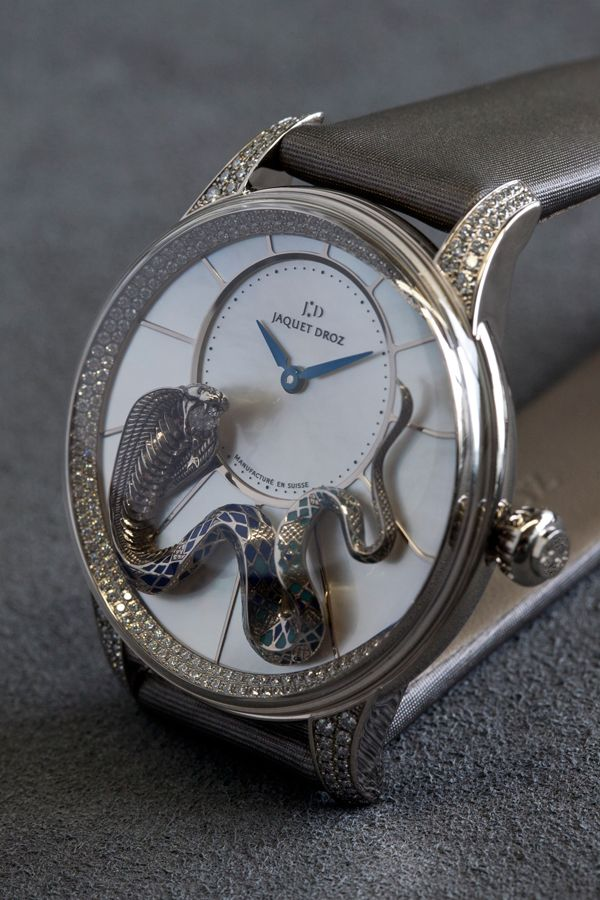 ♂ jaquet-droz-Heure-Minute-Relief-Serpent - beautiful!
