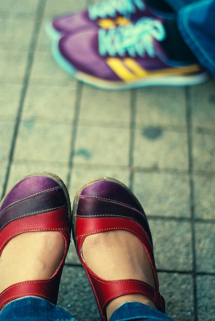 because you can't have too many colourful el naturalista shoes (this pair being recyclus ella)