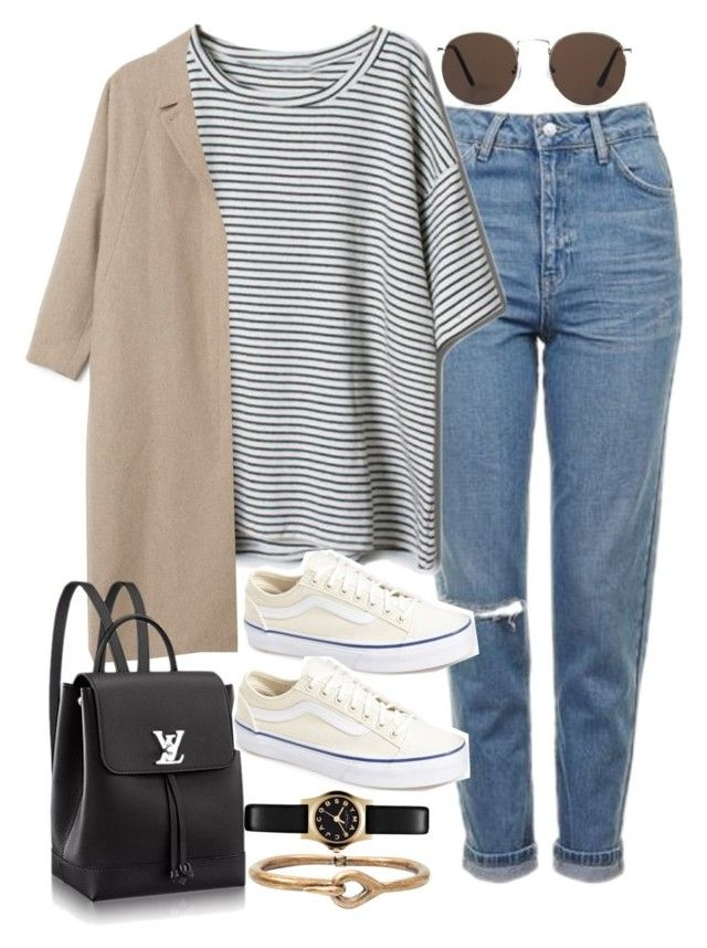 """""""Sin título #2110"""" by alx97 ❤ liked on Polyvore featuring Topshop, Vans, Marc by Marc Jacobs, Acne Studios and MANGO"""