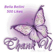 Thank you kindly to all who made this Wonderfully Amazing #Milestone possible. I'm absolutely #Overwhelmed to say the least. A #Heartfelt thank you once again to all you #BeautifulSouls & #BlessingsAlways ♥ Bella ♥