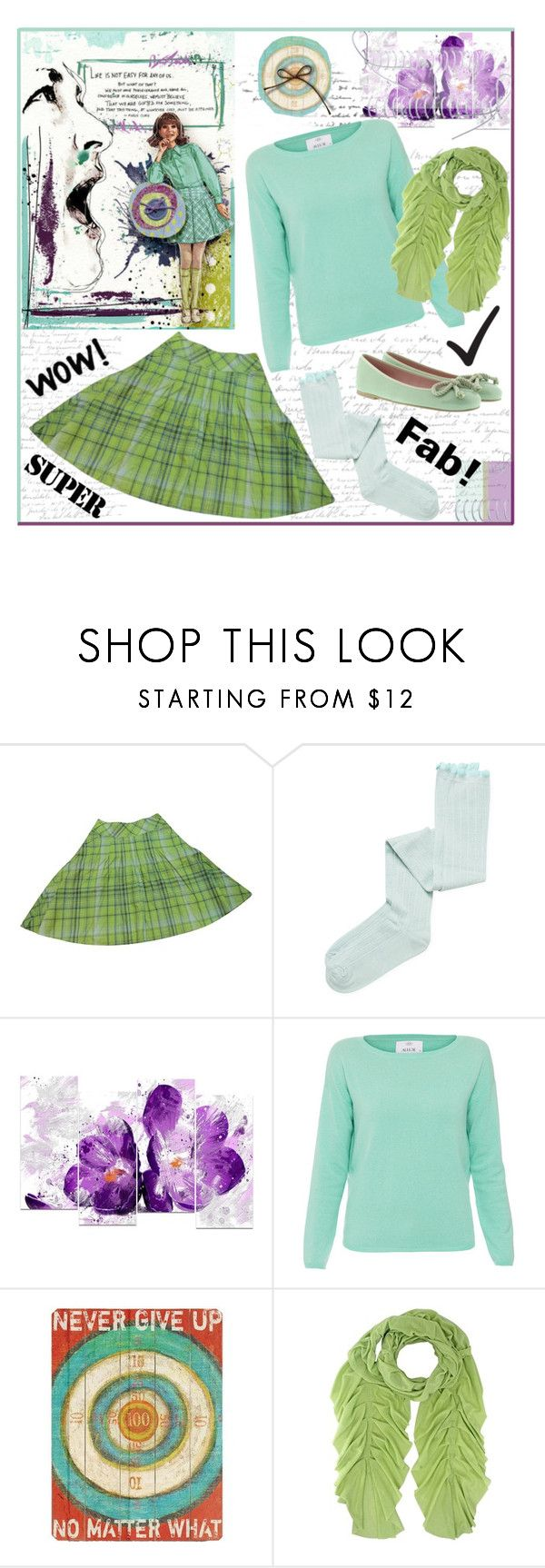 """School Daze"" by outfitsloveyou ❤ liked on Polyvore featuring Max&Co., Intimately Free People, Design Art, Allude, Home Decorators Collection and Pretty Ballerinas"