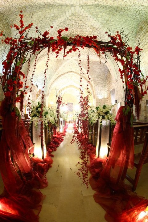 Wedding Arch...this Would Be Cool With Holly.