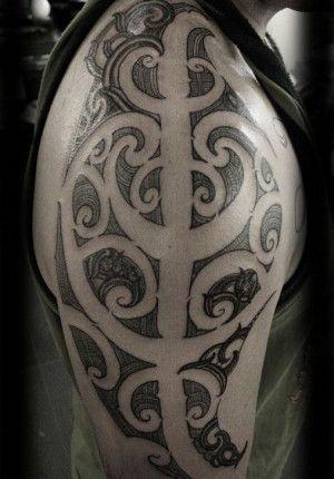 Custom New Zealand Maori Ta Moko Kirituhi Half Sleeve Tattoo Design_tattoo gallery 57 #marquesantattoosmaoridesigns