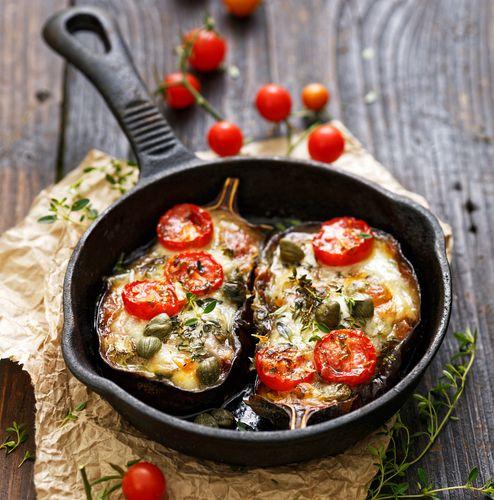 Jednoduchá a lehká večeře, která je vhodná i pro milovníky vegetariánské kuchyně.