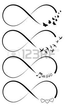 Les 25 meilleures id es concernant tatouages infini sur pinterest tatouages d 39 infini au - Le signe de l infini ...
