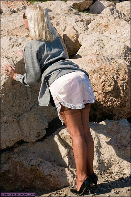 HALF SLIP BLISS | Slips | Slip on, Silk slip, Fashion