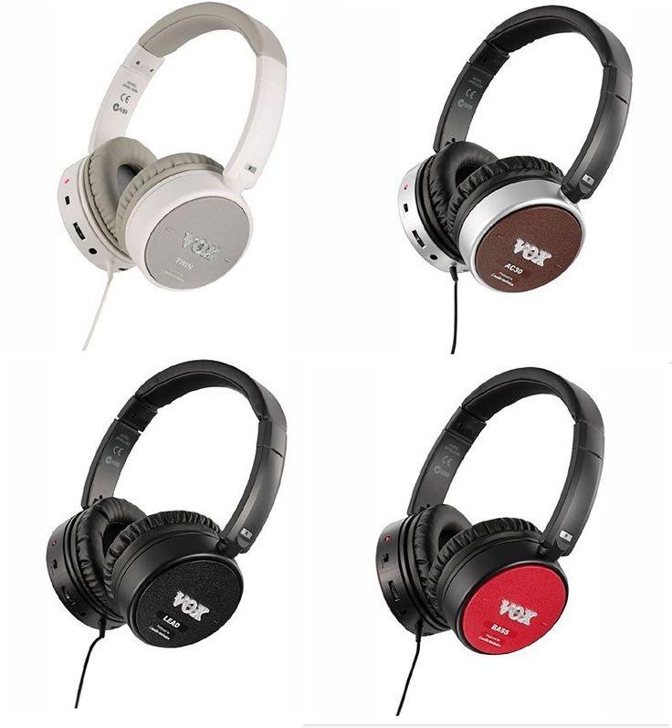 KORG Vox Amphones Lead Active Guitar Headphones Amp Built-In F/S Japan  #KorgVOX