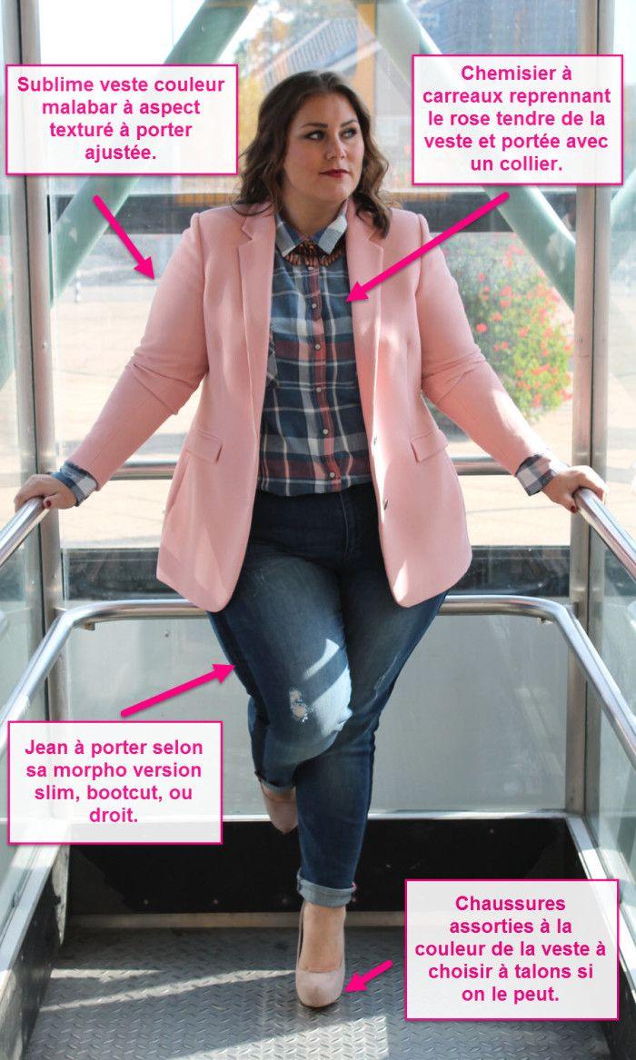 jean et veste grande taille 1