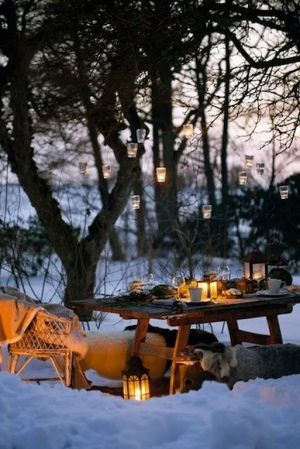 A winter picnic. by geneva
