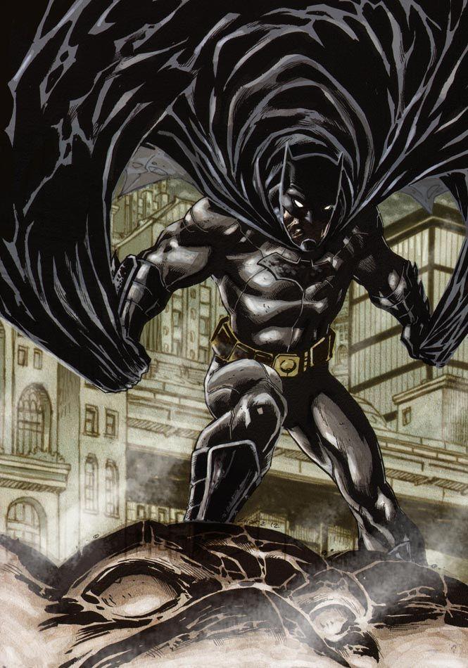 Batman DC New 52 Finished By Dichiara