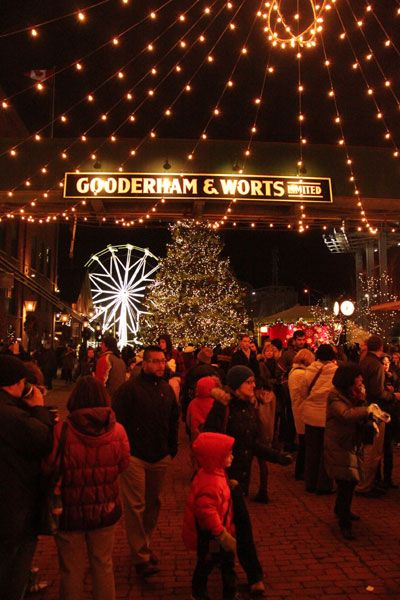 Lowe's Toronto Christmas Market - I absolutely LOVE this - it's like a European Christmas mkt - a 'must go' every year!