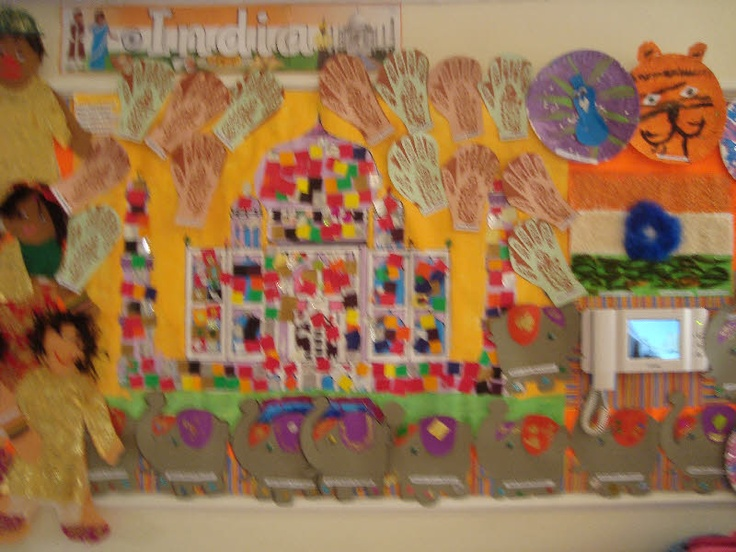 India by KG 1 Little Stars classroom display photo - Photo gallery - SparkleBox