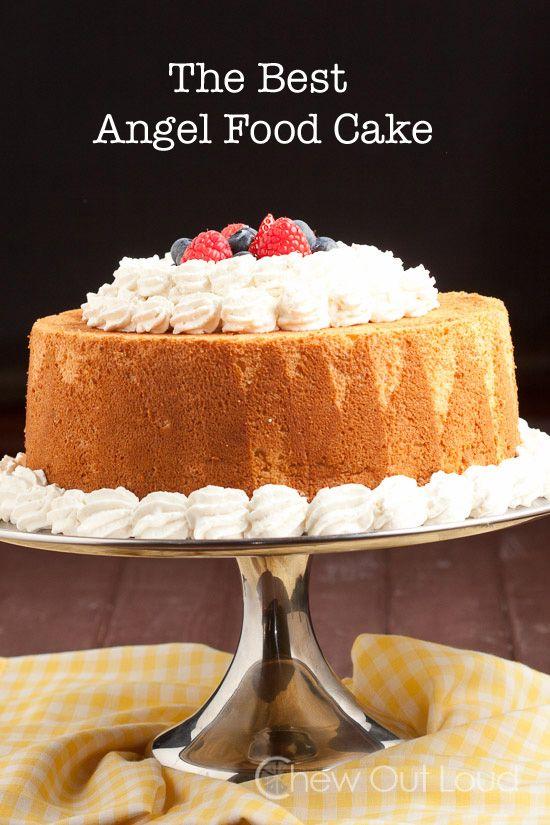 Angel Food Cake Recipe Dishmaps