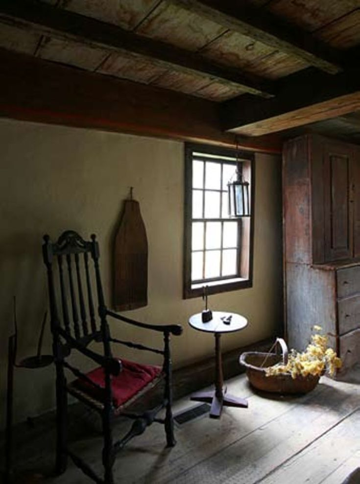 Early New England Interior William Haskell House