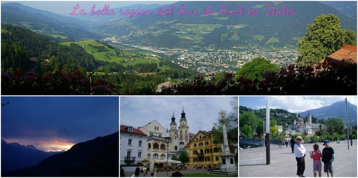 Visitar y conocer la regín de Tirol del Sur en Italia