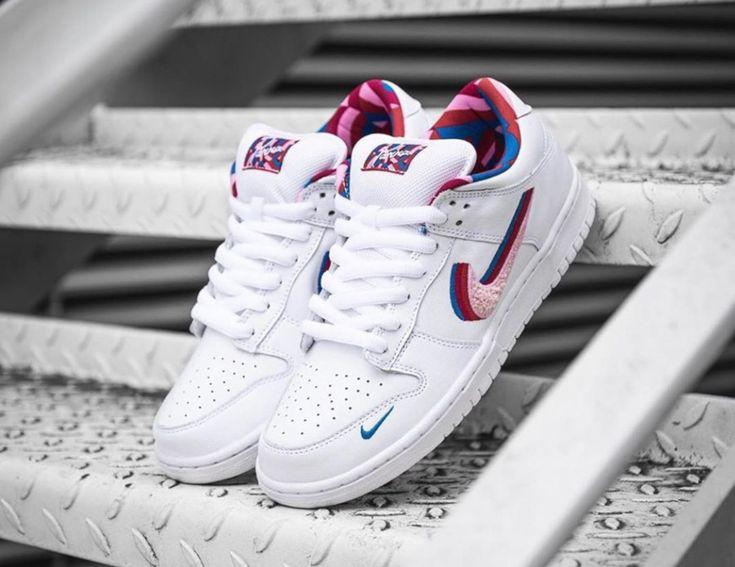 Nike SB Dunk Low Parra - 07/2019   Mode de nike, Nike sb dunks ...