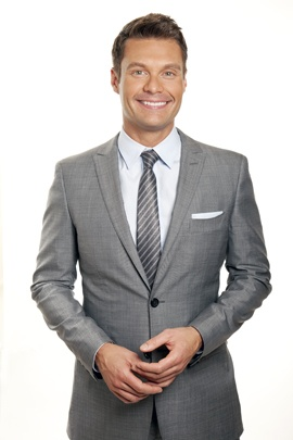 Ryan Seacrest: hmmmm could it be...SATAN!????!!! guilty as charged. Making the innumerable talentless, narcissistic, delusional, unattractive, strange, desperate, stupid, and peculiar make a complete ass out of themselves on national tv and get REAL PAID for it? Wow we're so damned bored we make guys like this insanely rich.