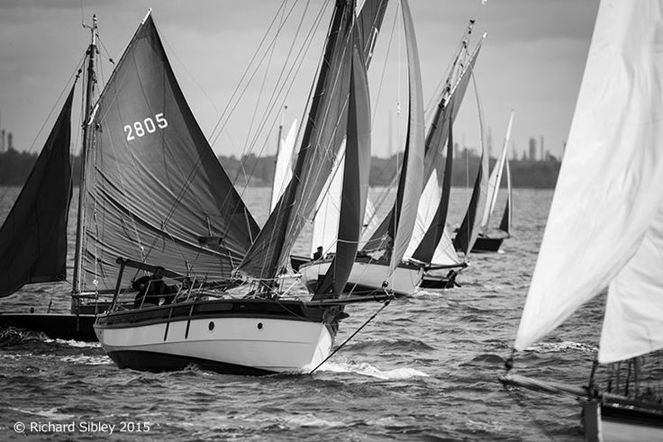 Old Gaffers - Yarmouth Isle of Wight 2015