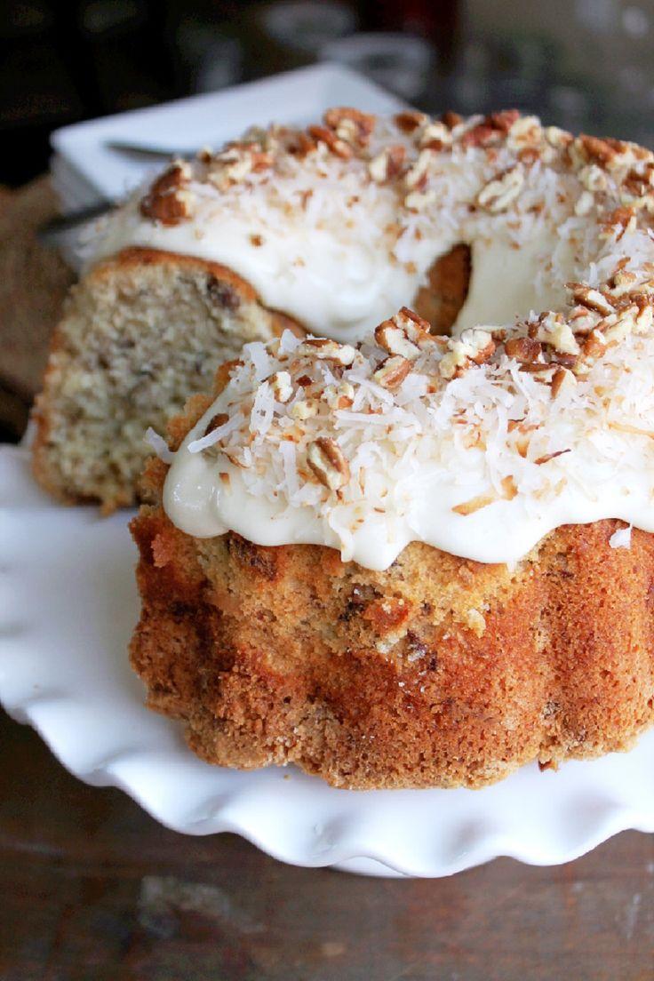 Glazed Sour Orange And Coconut Pudding Cakes Recipe — Dishmaps