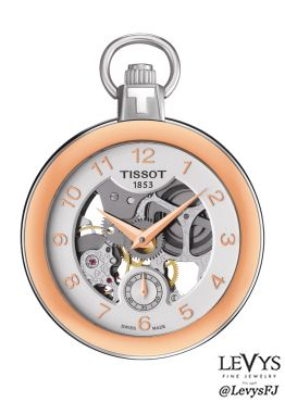 T853_405_29_412_01- POCKET MECHANICAL SKELETON #Tissot #TPocket