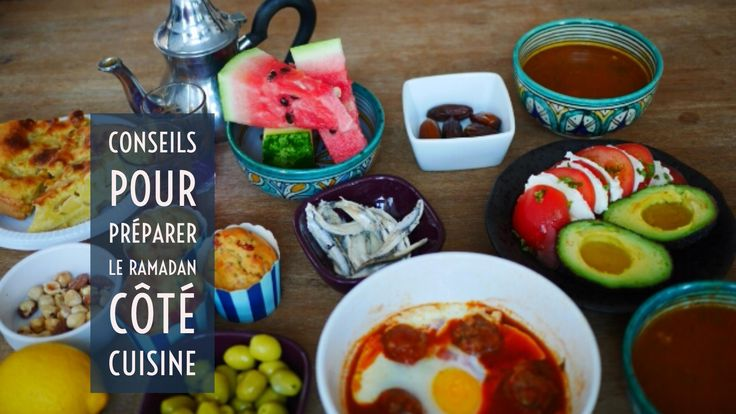 Préparer le Ramadan 2016 en cuisine