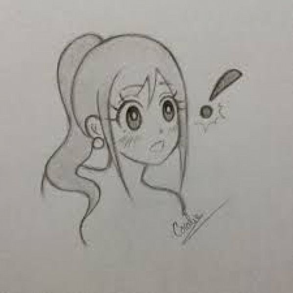 Resultat De Recherche D Images Pour Dessin Manga Fille Kawaii Facile Mangaillustration Manga Illustration Love Manga Drawing Drawings Manga