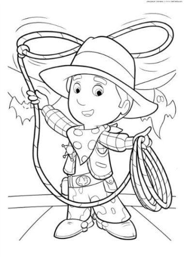 Cowboy Ausmalbilder Ausmalbilder Für Kinder Kindergarten