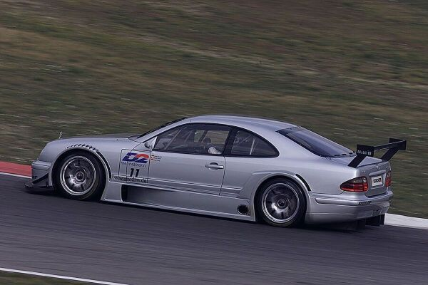 400 Piece Jigsaw Puzzle. German Touring Car Testing, Italy.   Febrauary 17th 2000.  Mercedes-Benz Motorsport tested the new CLK.  Drivers Bernd Schneider and Klaus Ludwig  focused on tyre tests, set-up, and the development of the DTM racecar production for the season.. . Image supplied by Motorsport Images