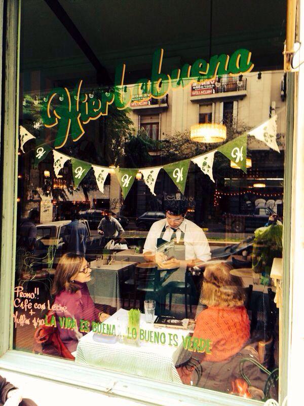 Hierbabuena Deli Natural Restaurante #av caseros 454# san telmo# rico#saludable#