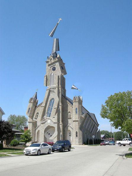 Deconstructing churches to excellent, architectural effect is Michael Jantzen