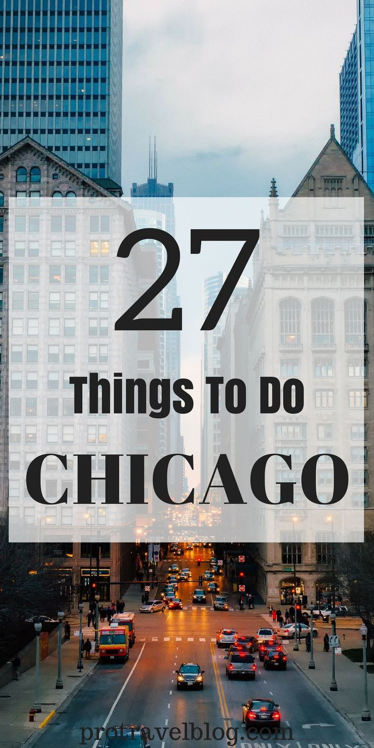 Here are 27 fun things to do in Chicago for visitors or even if you live here! This is a lists of the best Chicago things to do so check it out! via @protravelblog