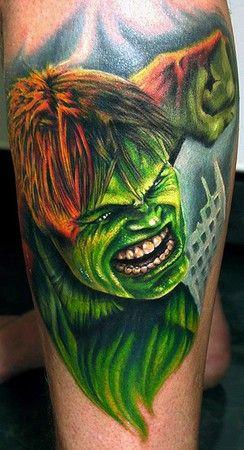 Hulk Tattoos   MadSCAR