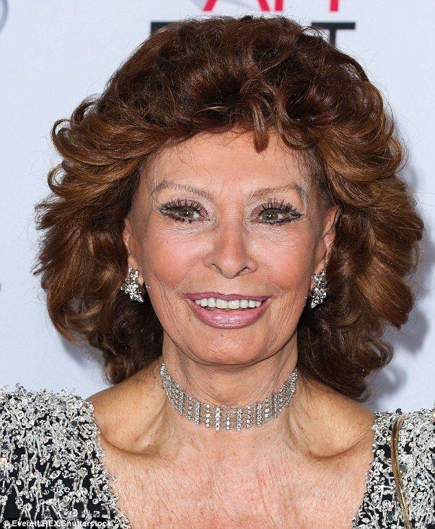 Is 80 the new 40? Octogenarian goddesses Mary Berry, Glenda Jackson and Dame Judi Dench | Daily Mail Online.  Sophia Loren